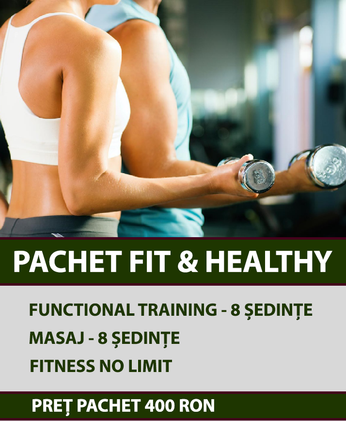 PACHET FIT AND HEALTHY