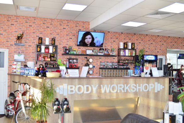 Receptie BodyWorkshop